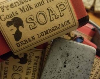 Urban Lumberjack Goats Milk and Hemp Soap