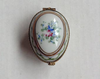 Limoges France Collectible Hinged Box