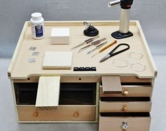 Workbench and Jewelry Soldering Tools Supplies Make Jewelry Solder & Repair Bench