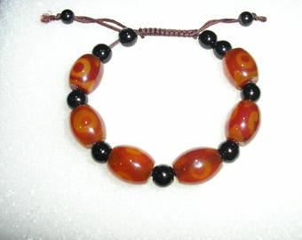 Genuine agate bracelet