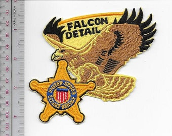 US Secret Service USSS Washington Vice President Protection Falcon Detail Agent Service Patch
