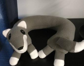 Neck Pillow, Fox Neck Pillow, Animal Neck Pillow