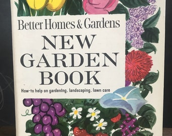 Vintage 1961 Better Homes And Gardens New Garden Book