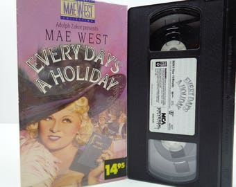 Every Day's a Holiday VHS Tape
