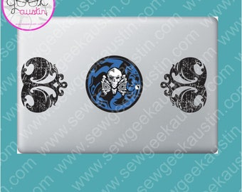 Sam Winchester Laptop Decal Supernatural Prop Replica