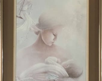 Love - Mother and Child Print by Margaret Kane