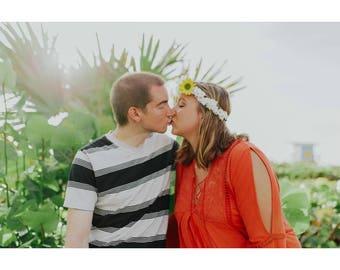 Custom, flower crown, floral crown, wedding, engagement, Tiara