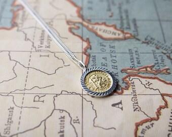 Saint Christopher Necklace  - Religious Necklace