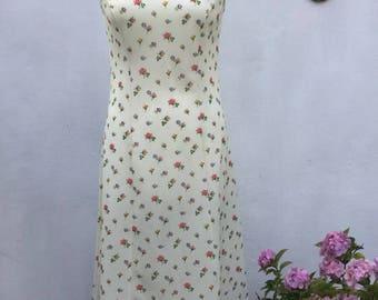 Vintage 60's/70's Floral Dress