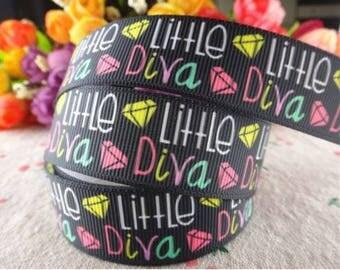 Little Diva grosgrain ribbon