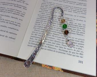 Bookmarks metal bookmarks, bookmarks, beads, metal marker Sun stars, bookmarks, book jewelry bookmark
