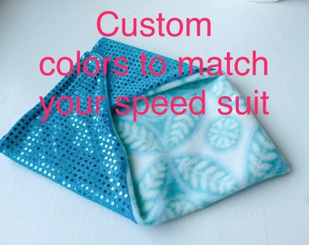 Custom Fleece Neck Gaiter for Skiers