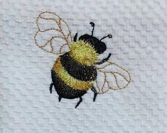 Bee Tea Towel Decorative Towels Spring Kitchen Accessories