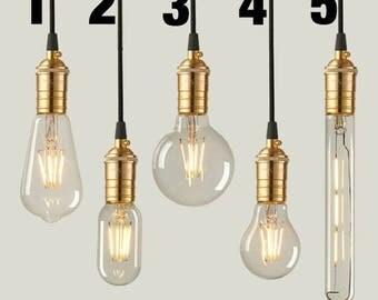 Edison Bulbs, Light Bulbs, Pendant Lights