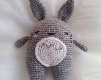 Inspired by Totoro crochet plush toy