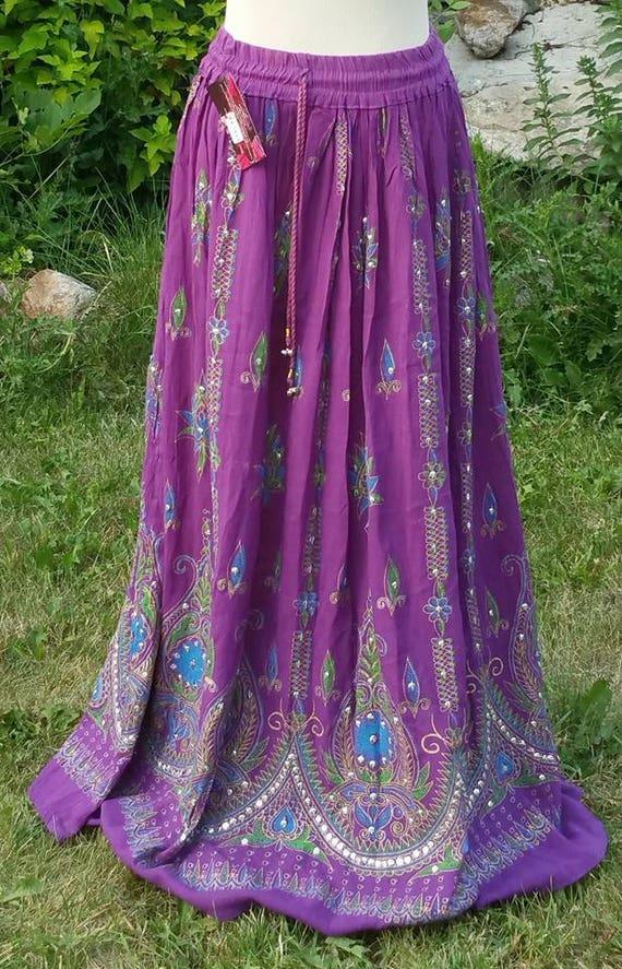 Bohemian Long Hippie skirt, long gypsy skirt, gypsy long skirt, gypsy skirt, bohemian girls skirt, hippie long skirt, boho gypsy skirt
