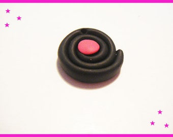 Bead licorice Fimo clay polymer ♥ ♥