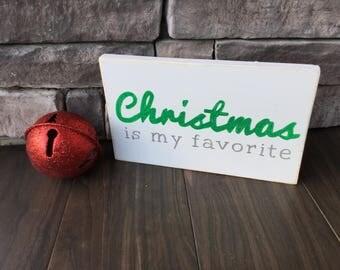 Elf Movie Quote Wood Sign