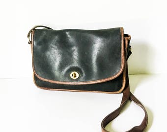 Coach Cross Body Purse - Vintage Coach shoulder bag - 80s Coach purse - Coach leather purse - Hipster Coach shoulder purse