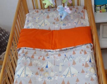 Baby bedset + pillow + blanket