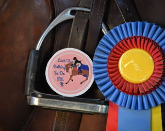 Luck Equestrian Sticker