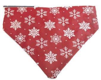Christmas Dog Bandana for Collars