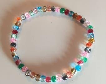 Rainbow Summer Bracelet festival accessory