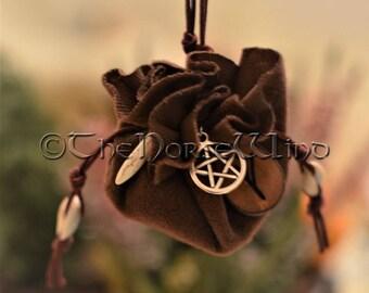 Mojo Bag Hoodoo Bag Talisman, Runes Couples Amulet, Magic Spell Bag, Good Luck Talisman