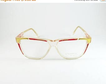 ON SALE Vintage Eyeglasses, Ouverture By Lastes Cleopatra, 80s, Prescription Glasses, Gift Ideas, Transparent Glasses, Mom Gift, Reading Gla