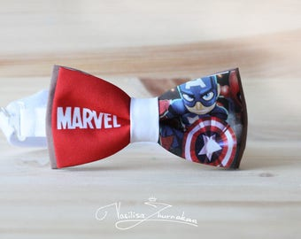 Captain America marvel comics Bow tie - Bowtie