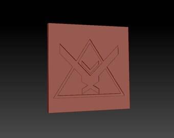 Halo Reach 'Noble Team' Themed Coaster [3D Printed]