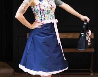 BEVERLY SWEET PEACH 50's Dress