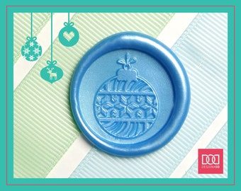 Christmas Ornament - 1 - Design OD Wax Seal Stamp (DODWS0410)