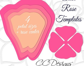 Giant paper rose patterns tutorials diy rose flower giant paper rose templates easy printable pdf rose template diy rose patterns and tutorials pronofoot35fo Image collections