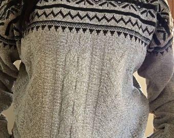 Bill Blass 80's 90's sweater / xl.