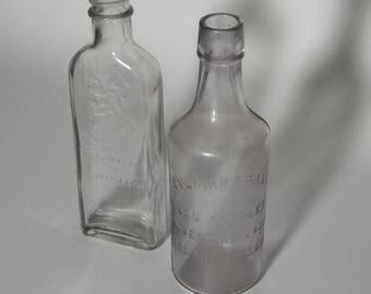 Vintage Los Angeles Collector Bottles