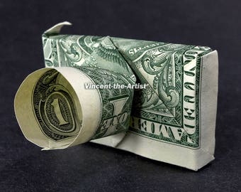 CAMERA Money Origami Art Dollar Bill Cash Photographer Sculptors Bank Note Dinero Handmade