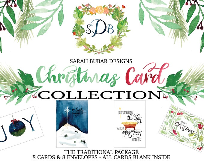 Featured listing image: Christmas Card Collection - The Traditional Package