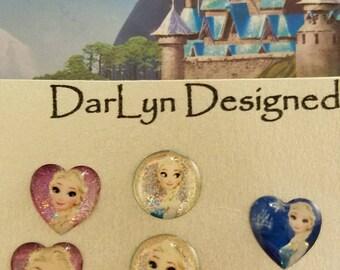 Elsa magnetic earrings