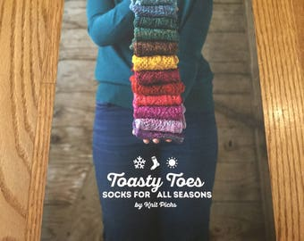 DISCOUNTED KnitPicks Toasty Toes pattern book