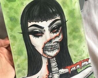 Skeletor girl