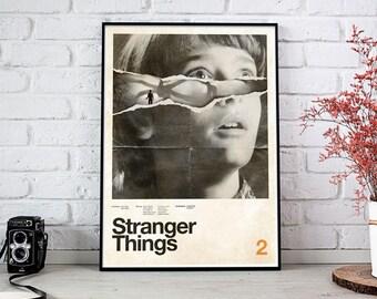 Stranger Things Season 2 - 2017 Concepcion Studios Fine Art Print Poster