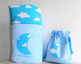 Baby Blue cloud box