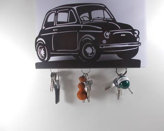FIAT 500, hook key case