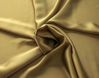 1712-093 - Crepe Satin silk 100%, width 135/140 cm, made in Italy, dry cleaning, weight 100 gr