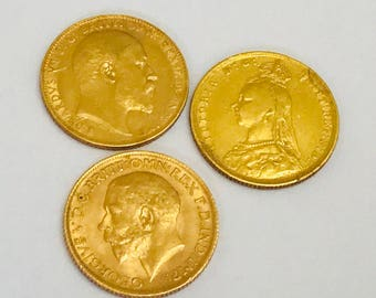 Antique 22ct gold Sovereigns