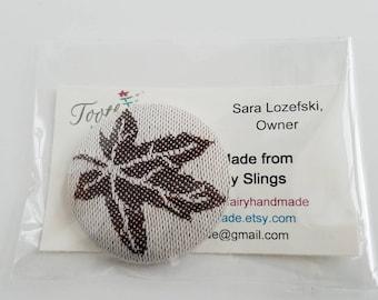 Wrap Scrap Magnet - Large Magnet - Wrap Scrap - Babywearing - Magnet - Cari Slings - The 'Verse, The Pilot - Maple Leaf - Firefly