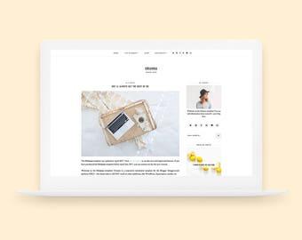 Orianna | Responsive Blogger Template
