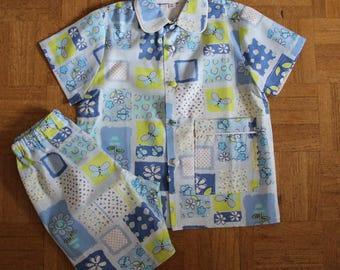 Summer T 2 year cotton pajamas
