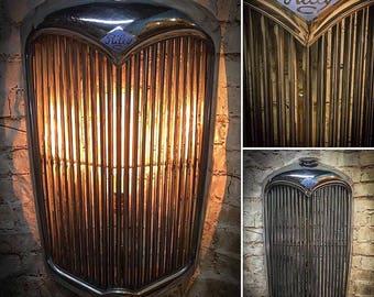 Vintage Riley Grill Wall Light